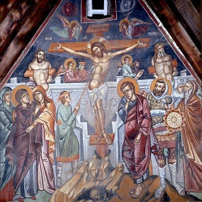 Crucifixion, Cretan School--Giclee Print