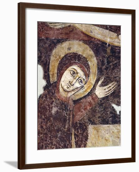 Crucifixion, Detail, 13th Century--Framed Giclee Print