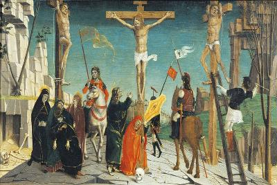 Crucifixion, Detail from San Martino Altarpiece--Giclee Print