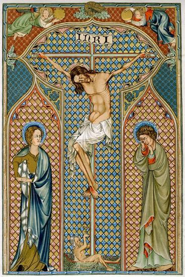 Crucifixion, Early 14th Century--Giclee Print