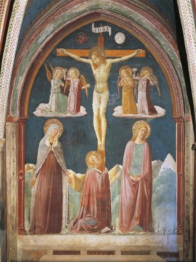 Crucifixion, Fresco-Nicolo Alunno-Giclee Print