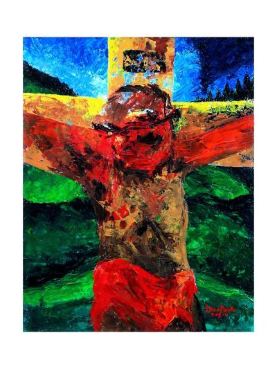 Crucifixion- it Is Finished, 2009-Patricia Brintle-Giclee Print