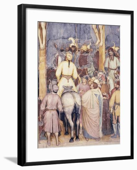 Crucifixion of Christ, 1379-1384--Framed Giclee Print