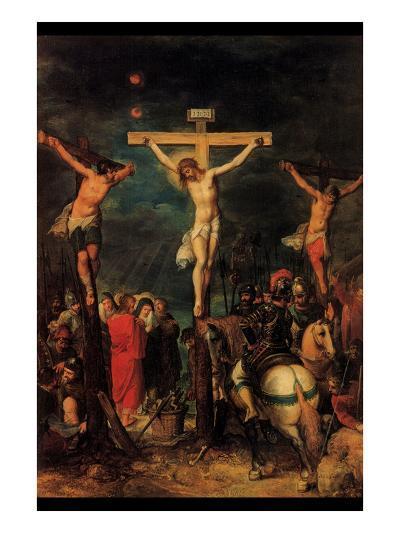 Crucifixion of Christ by Francken- Francken-Art Print