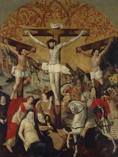 Crucifixion Scene, C.1530-60-Ruprecht Heller-Giclee Print