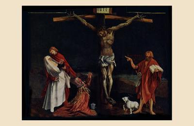 Crucifixion-Matthias Gr?newald-Art Print