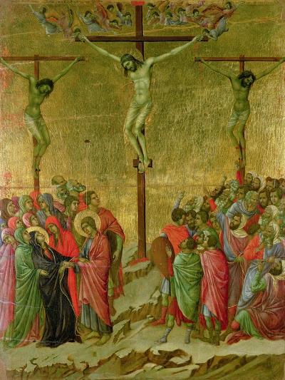 Crucifixion-Duccio di Buoninsegna-Giclee Print