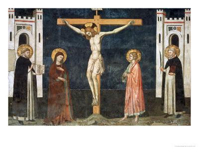 Crucifixion-Pietro Cavallini-Giclee Print