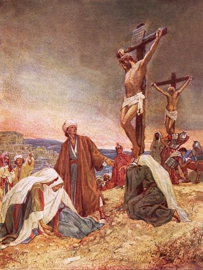Crucifixion-William Brassey Hole-Giclee Print