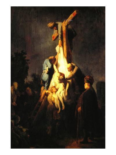 Crucifixion-Rembrandt van Rijn-Art Print