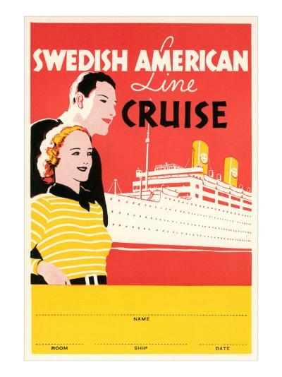 Cruise Travel Poster--Art Print