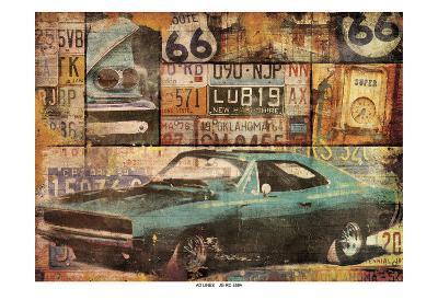 Cruising-Jace Grey-Art Print