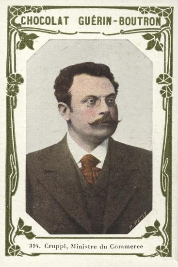 Cruppi, Ministre Du Commerce--Giclee Print