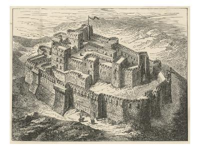 Crusaders' Fortress--Giclee Print