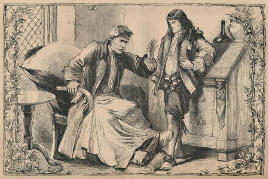 'Crusoe Advised by his Father', c1870-Unknown-Giclee Print