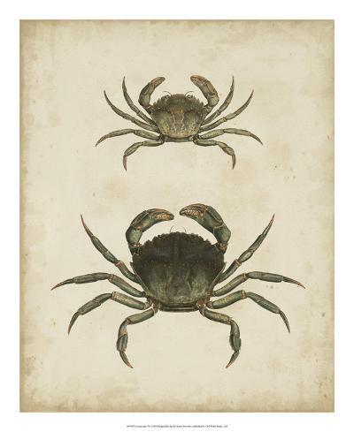 Crustaceans IV-James Sowerby-Giclee Print