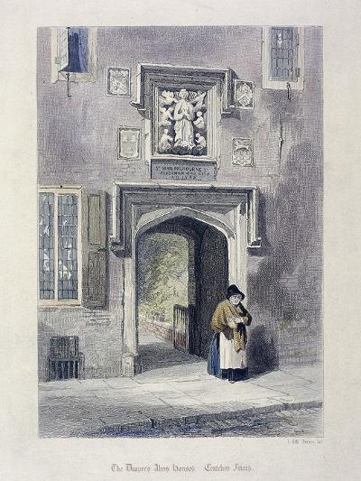 Crutched Friars, London, 1851-John Wykeham Archer-Giclee Print