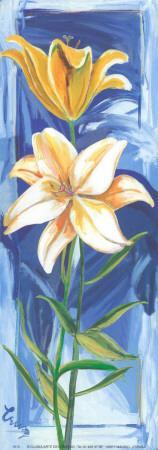 2 Vertical Flowers