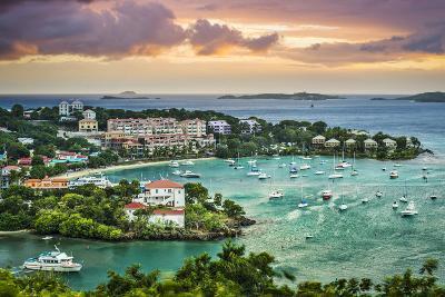 Cruz Bay, St John, United States Virgin Islands.-SeanPavonePhoto-Photographic Print