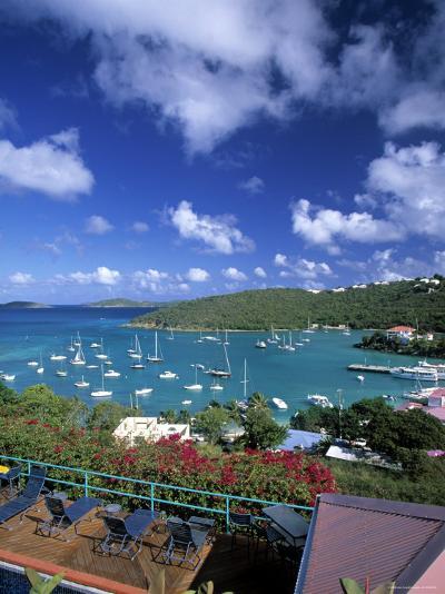 Cruz Bay, St. John, Us Virgin Islands, Caribbean-Walter Bibikow-Photographic Print