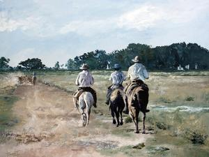 On Horseback, 2010 by Cruz Jurado Traverso