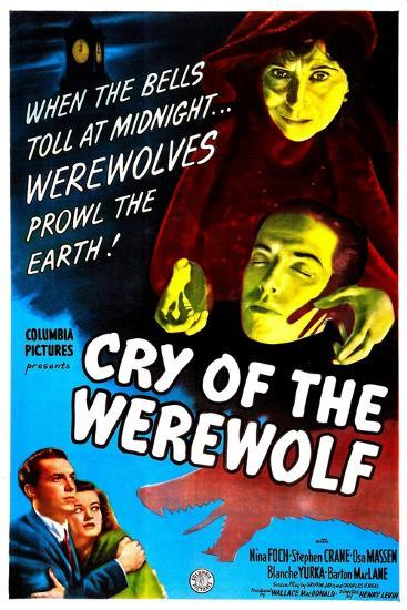 Cry of the Werewolf--Art Print