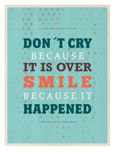 Cry Smile-Maria Hernandez-Art Print