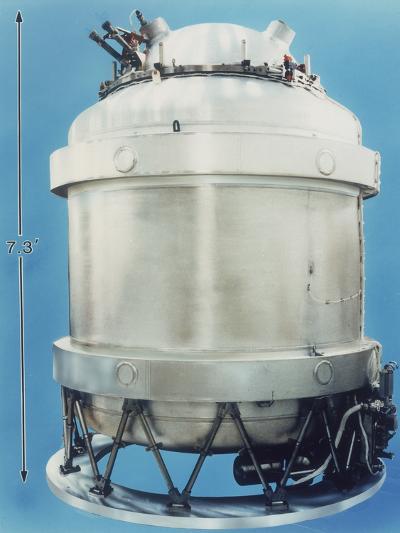 Cryostat for Cobe Satellite, 1989, Usa--Photographic Print