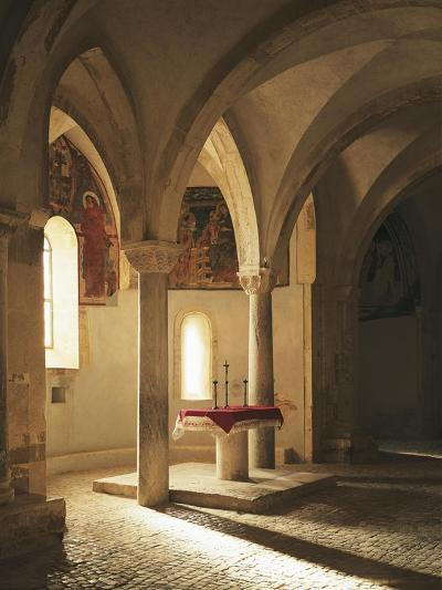 Crypt of Abbey of St John in Venus, Fossacesia, Italy, 12th Century--Giclee Print