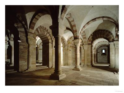 Crypt of Speyer Cathedral, Begun 1030 by Konrad II--Giclee Print