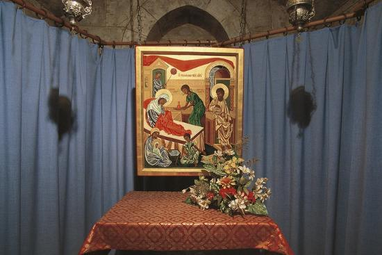 Crypt of St Anne's Church, Jerusalem, Israel (Donated by France in 1965)--Photographic Print