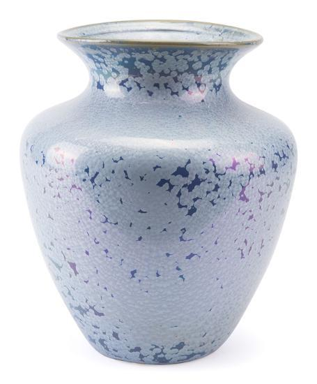 Crystal Blue Tall Vase Blue--Home Accessories