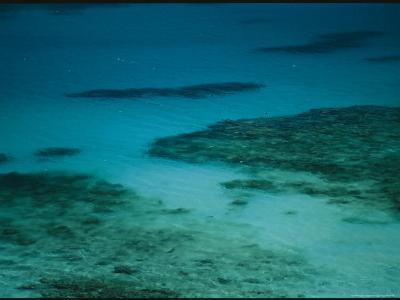 Crystal Blue Water Surrounds Virgin Gorda Island-Todd Gipstein-Photographic Print