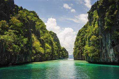 Crystal Clear Water in the Bacuit Archipelago, Palawan, Philippines-Michael Runkel-Photographic Print