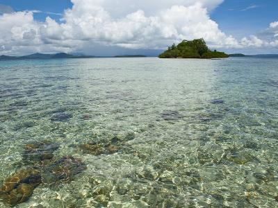 Crystal Clear Water in the Marovo Lagoon, Solomon Islands, Pacific-Michael Runkel-Photographic Print
