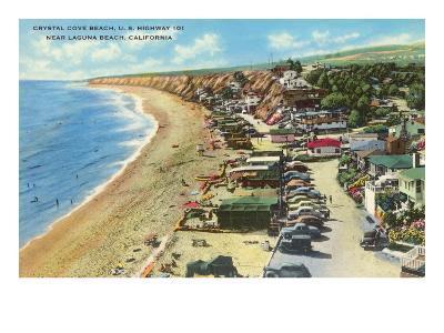 Crystal Cove Beach, Highway 101, Laguna Beach, California--Art Print