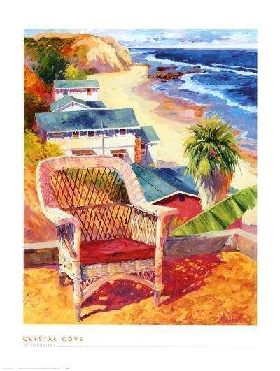 Crystal Cove-Michael Hallinan-Art Print