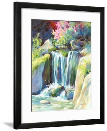 Crystal Creek-Julie G^ Pollard-Framed Art Print