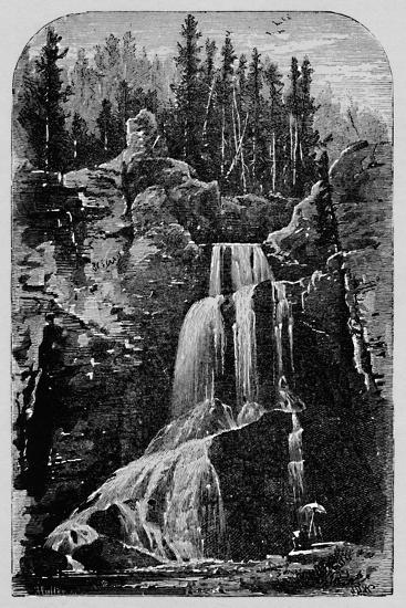 'Crystal Falls', 1883-Unknown-Giclee Print