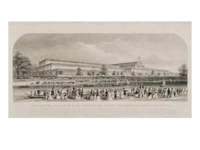 Crystal Palace in Hyde Park for the Great International Exhibition of 1851, pub. by Read and Co.--Giclee Print