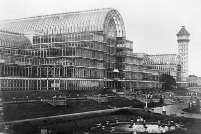 Crystal Palace in London--Photographic Print