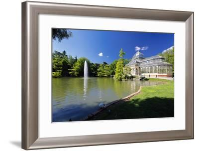 Crystal Palace Of Madrid-George Oze-Framed Photographic Print