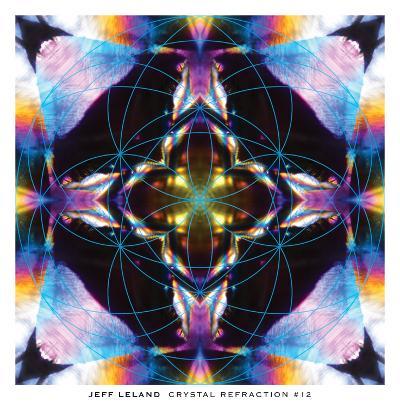 Crystal Refraction #12-Jeff Leland-Art Print