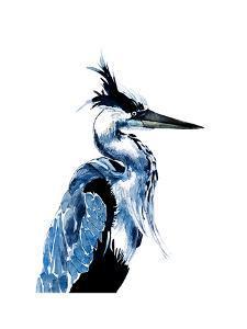 Coastal Blue Heron by Crystal Smith
