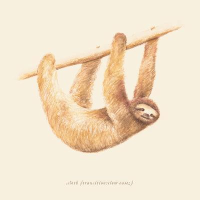 Css Animals Sloth-Florent Bodart-Art Print