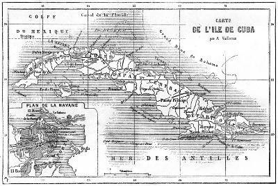 Cuba, 19th Century--Giclee Print