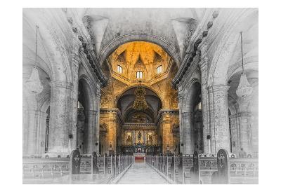 Cuba Church Duo 2-Vladimir Kostka-Art Print