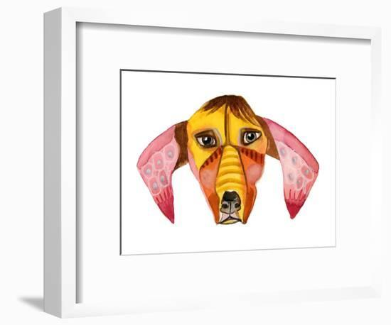 Cuba Dog, Buck-Stacy Milrany-Framed Art Print