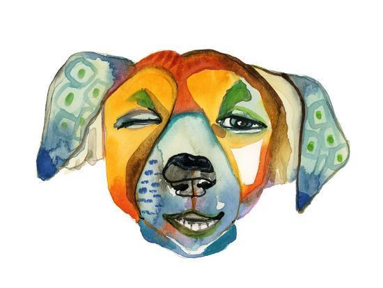 Cuba Dog, Camilla-Stacy Milrany-Art Print