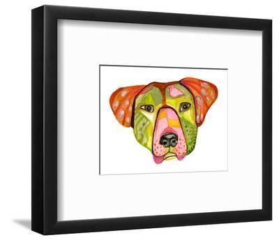 Cuba Dog, Hector-Stacy Milrany-Framed Art Print